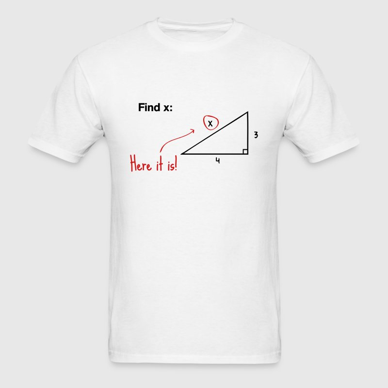Find x - there it is! T-Shirts - Men's T-Shirt