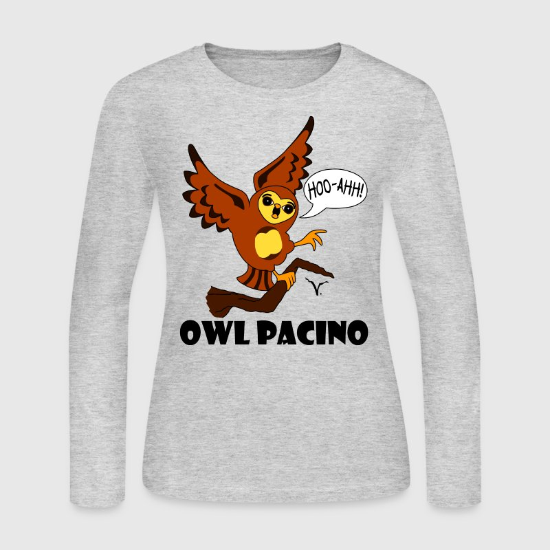 Owl Pacino Women's Long Sleeve Jersey T-shirt - Women's Long Sleeve Jersey T-Shirt