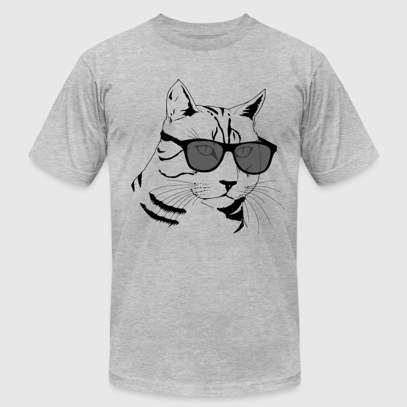 Cool Cat Design T-Shirts - Men's Fine Jersey T-Shirt