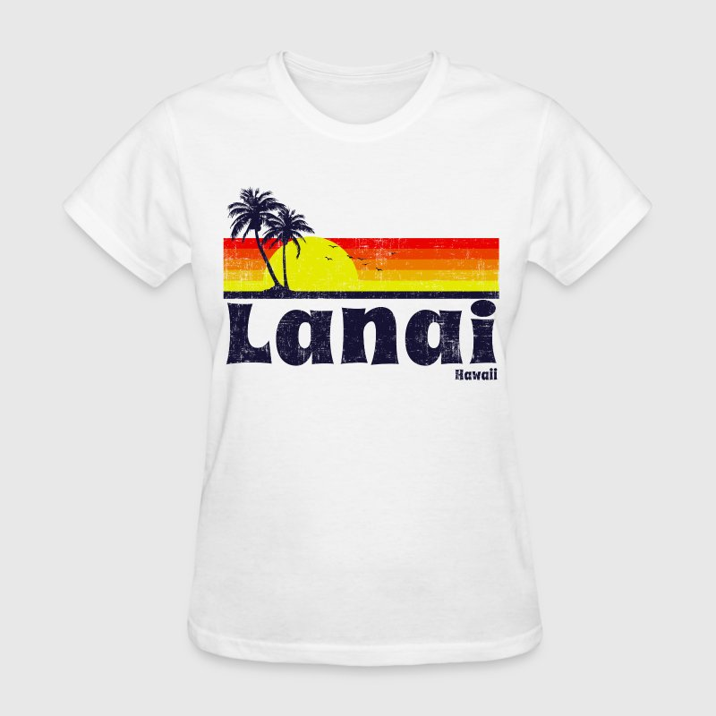 Lanai Hawaii Women's T-Shirts - Women's T-Shirt