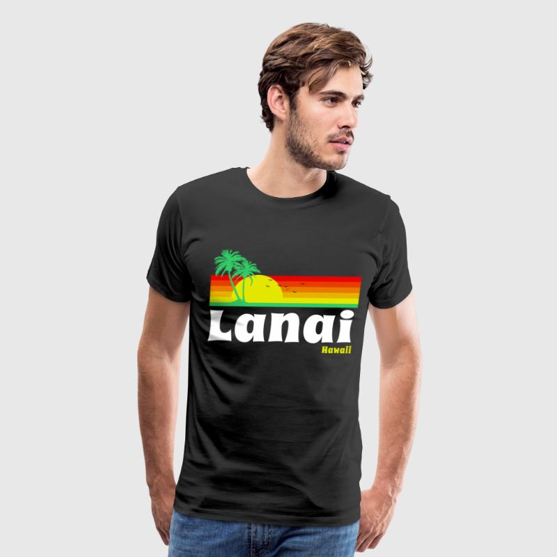 Lanai Hawaii T-Shirts - Men's Premium T-Shirt