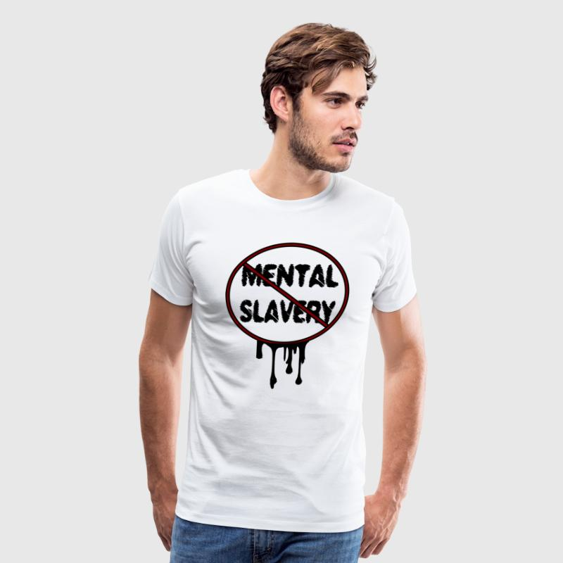 mental slavery - Men's Premium T-Shirt