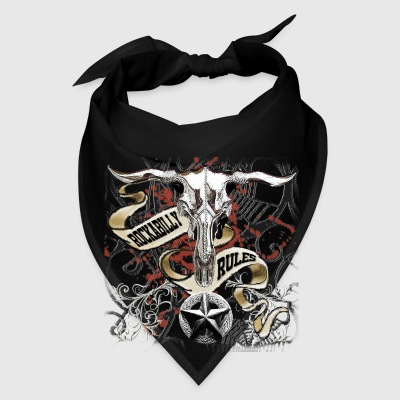 Texas Longhorn Rockabilly Rules - Bandana