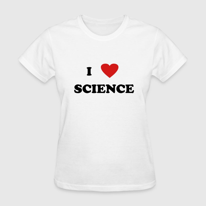 I heart Science Women's T-Shirts - Women's T-Shirt