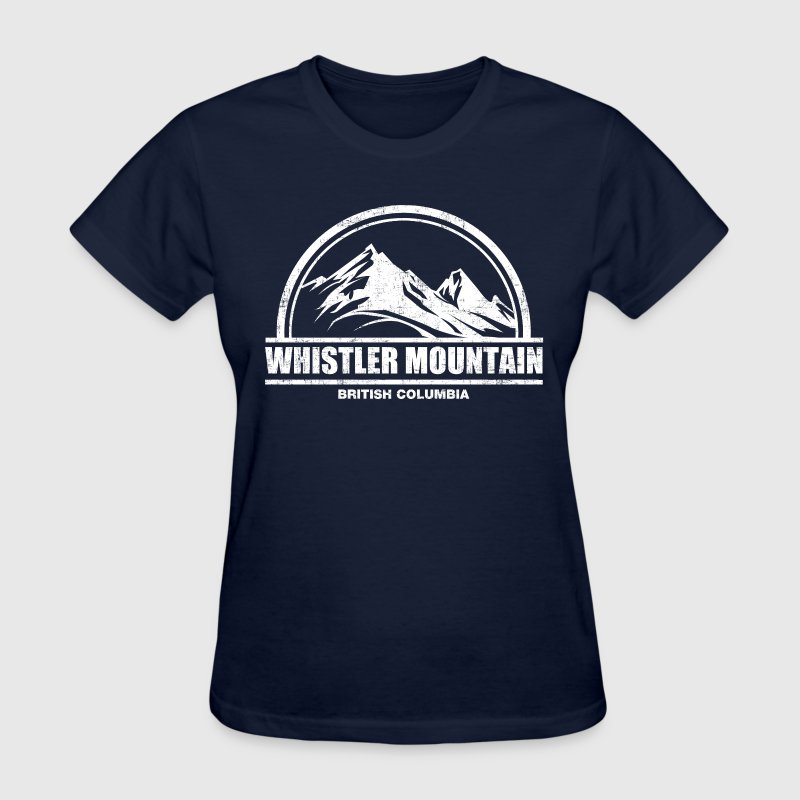 Whistler Mountain Women's T-Shirts - Women's T-Shirt