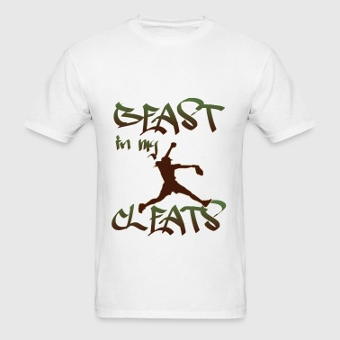 Softball - Beast in my Cleats - Men's T-Shirt