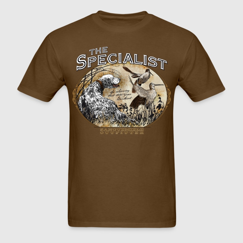 english setter specialist T-Shirts - Men's T-Shirt