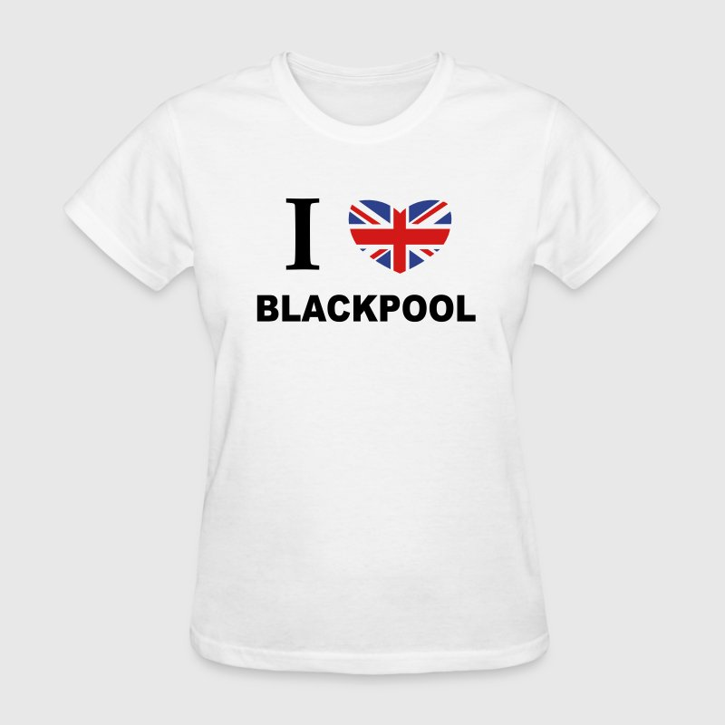 I Love Blackpool Women's T-Shirts - Women's T-Shirt
