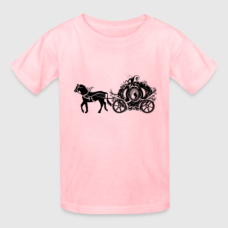 Cinderella in the Pumpkin Carriage Kids' Shirts - Kids' T-Shirt