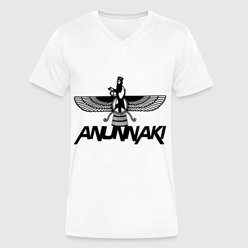 Anunnaki T-Shirts - Men's V-Neck T-Shirt by Canvas