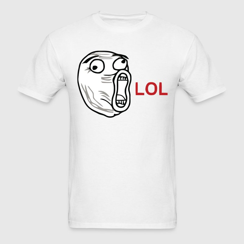 LOL - Meme T-Shirts - Men's T-Shirt