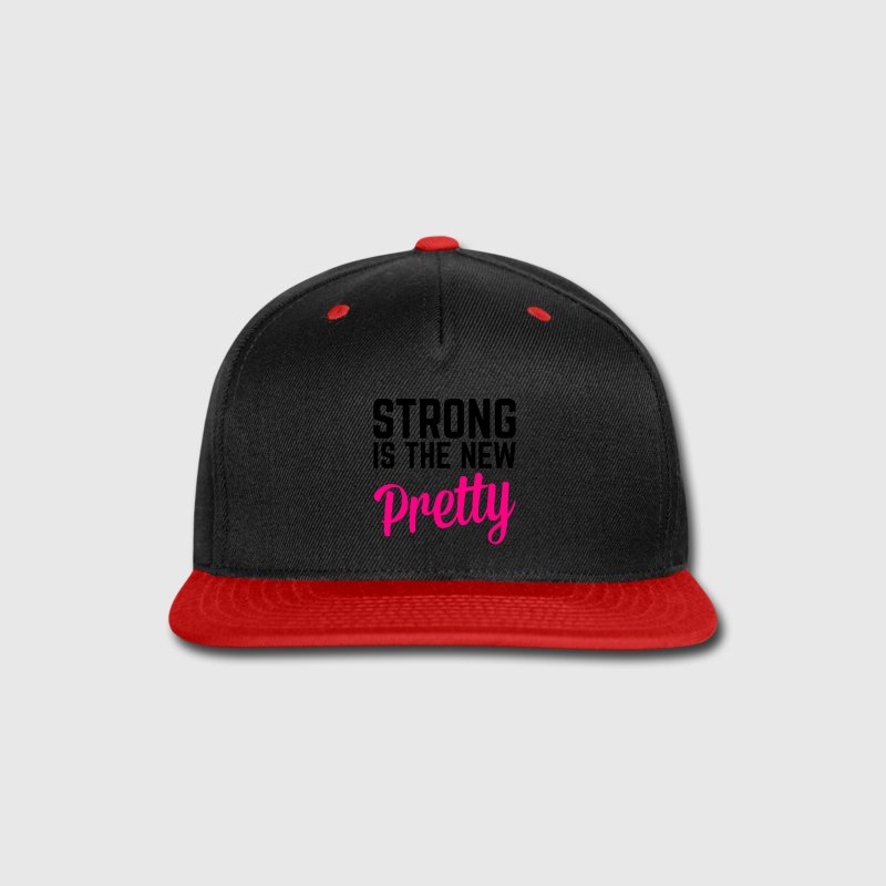 Strong Is the New Pretty  Caps - Snap-back Baseball Cap