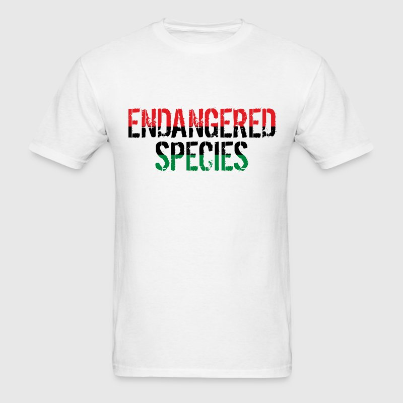 Endangered Species design. T-Shirts - Men's T-Shirt