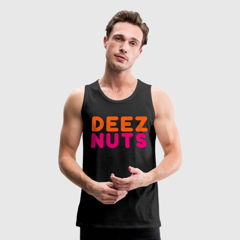 DEEZ NUTS Tank Tops - Men's Premium Tank