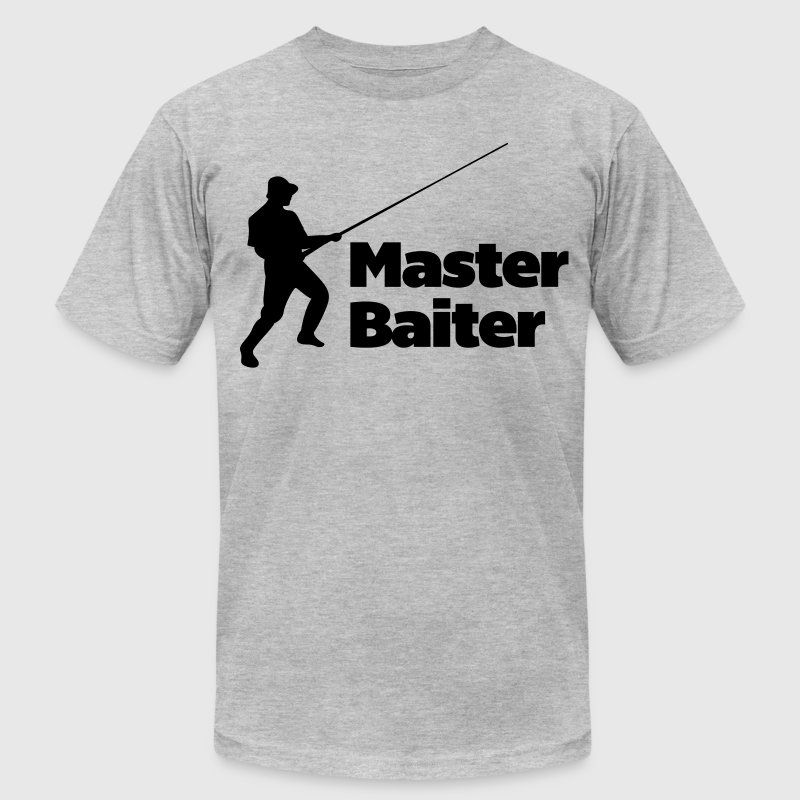 Master Baiter  T-Shirts - Men's T-Shirt by American Apparel