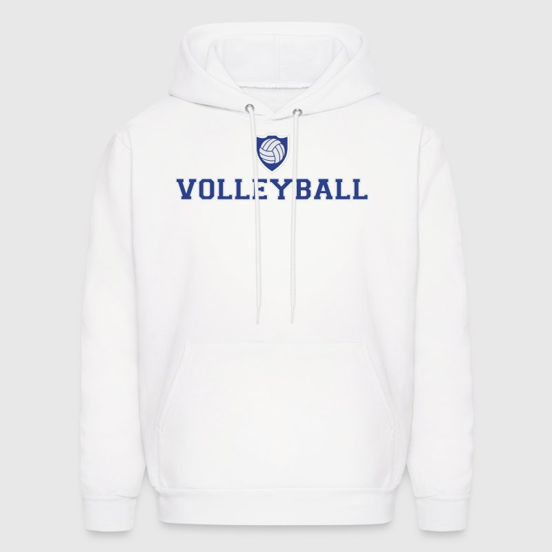 Volleyball and shield Hoodies - Men's Hoodie