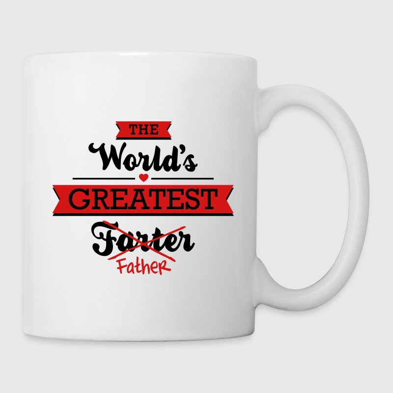 The world's greatest farter/father Mugs & Drinkware - Coffee/Tea Mug