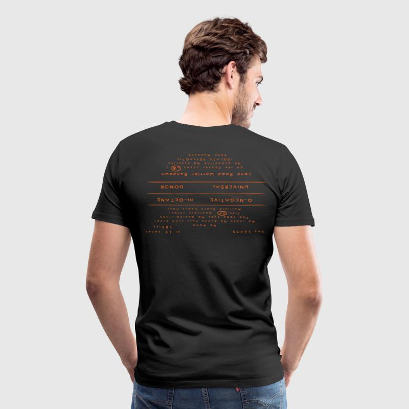 Mad Max Back Tattoo Shirt - Men's Premium T-Shirt