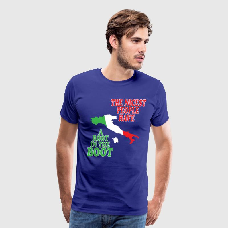 Root in the boot T-Shirts - Men's Premium T-Shirt