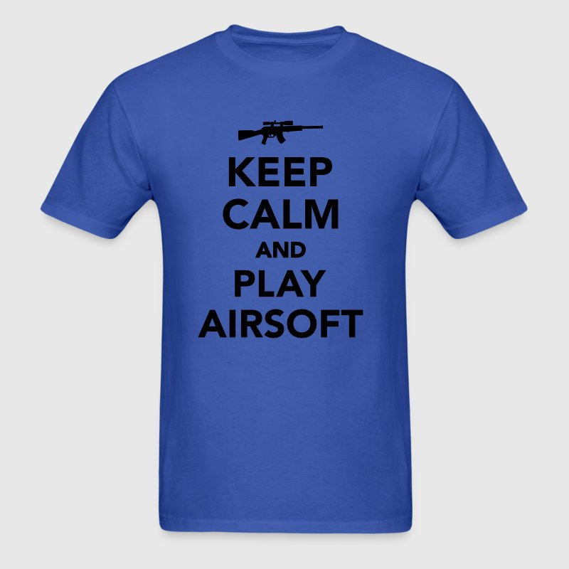 Keep calm and play Airsoft T-Shirts - Men's T-Shirt