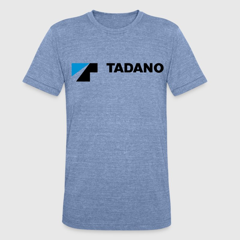 Light Blue Tadano T-shirt - Unisex Tri-Blend T-Shirt by American Apparel