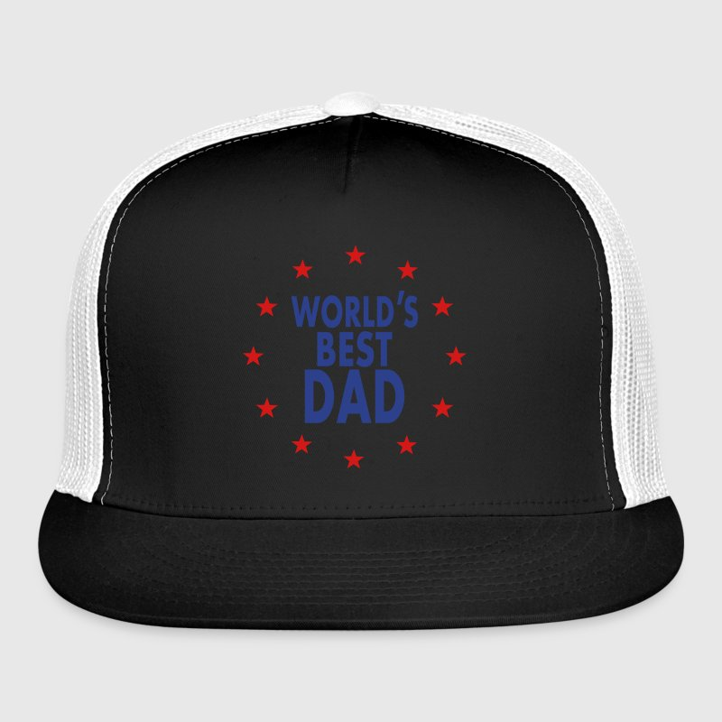 World's Best Dad T-Shirt  Caps - Trucker Cap