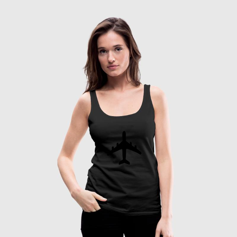 Plane Tanks - Women's Premium Tank Top