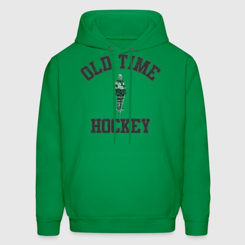 Classic Vintage Old Time Hockey Hoodies - Men's Hoodie