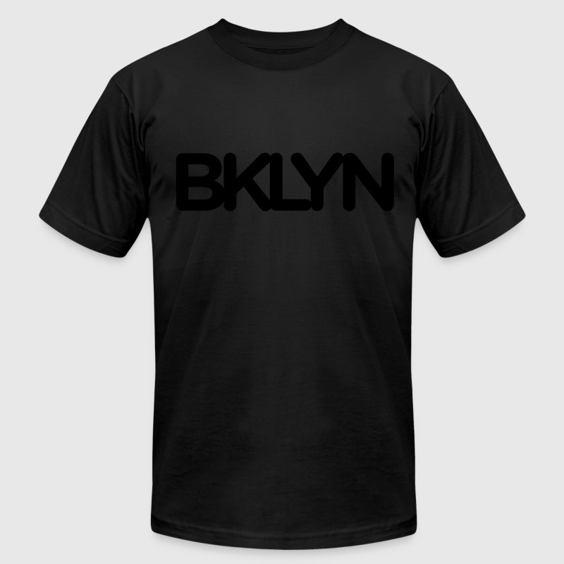 BKLYN Blackout Tee - Men's Fine Jersey T-Shirt