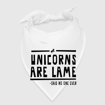 Unicorns are lame - Bandana