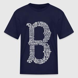 Cool Boston B Design T-Shirt   Spreadshirt
