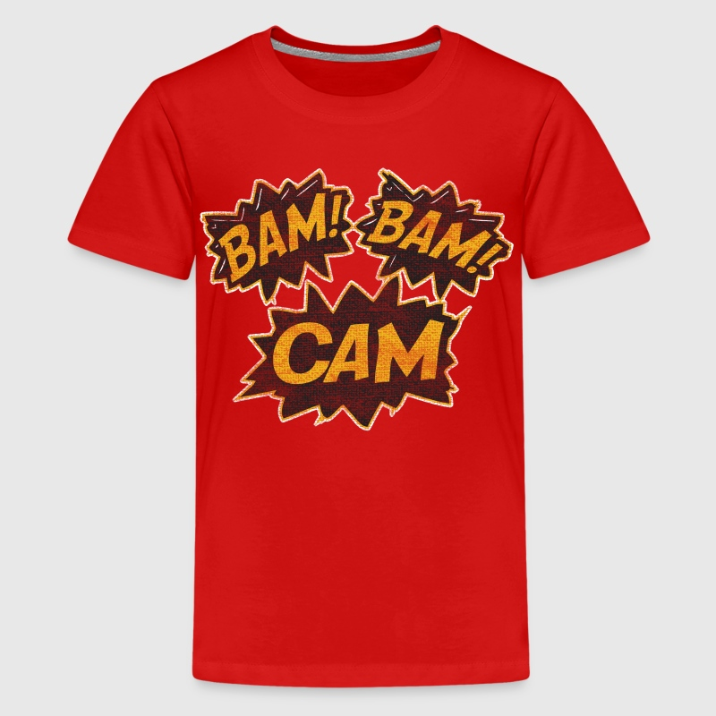 Bam Bam Cam Boston Hockey Kids' Shirts - Kids' Premium T-Shirt