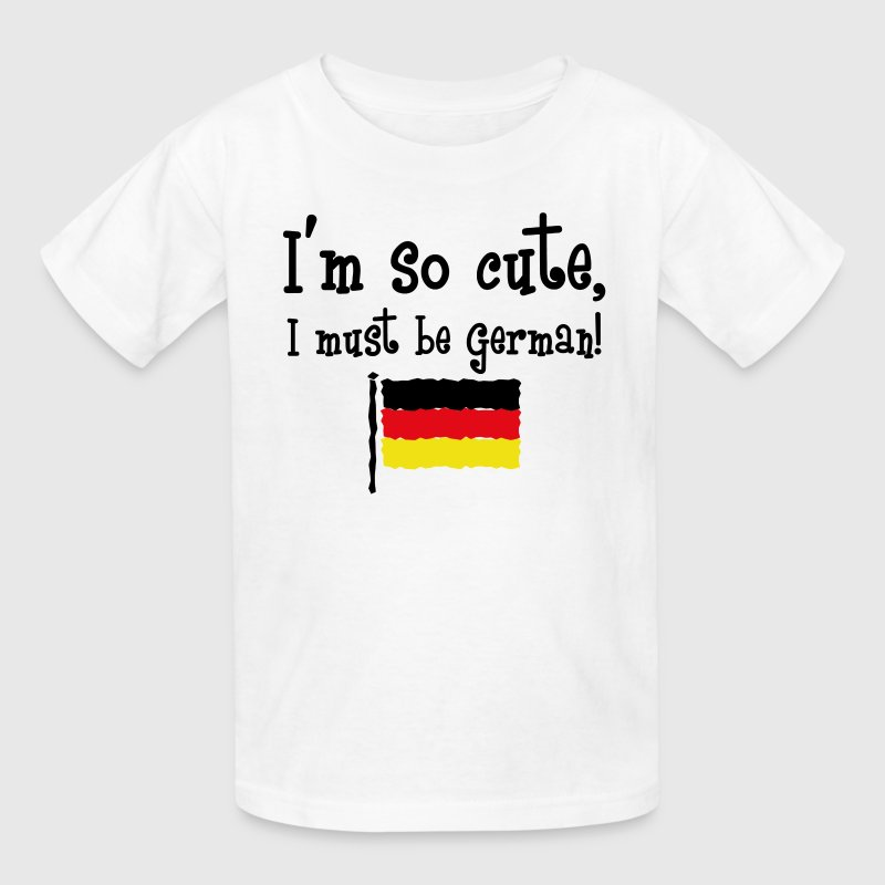 So Cute German Kids' Shirts - Kids' T-Shirt