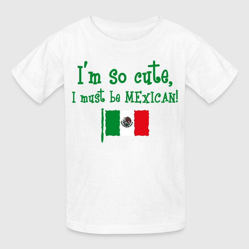 So Cute Mexican Kids' Shirts - Kids' T-Shirt