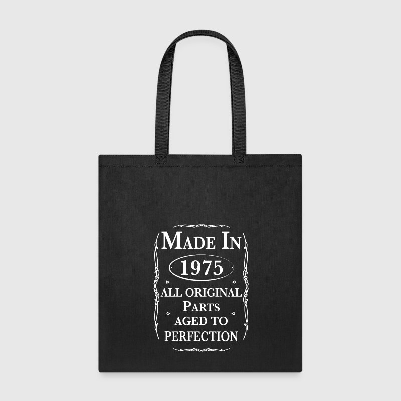 Made in 1975 Birthday Bags & backpacks - Tote Bag