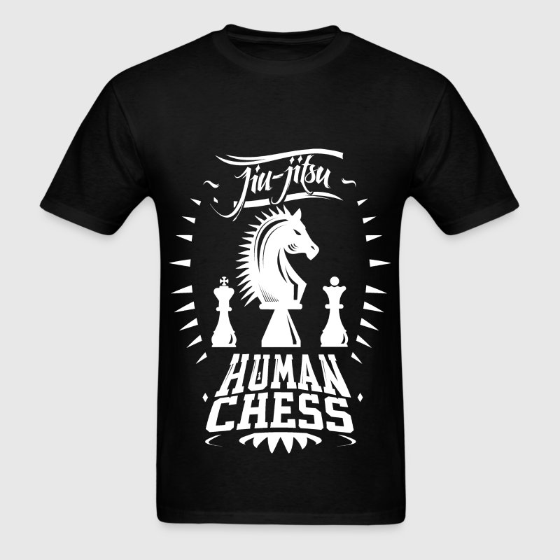 Jiu Jitsu Human Chess Shirt - Men's T-Shirt