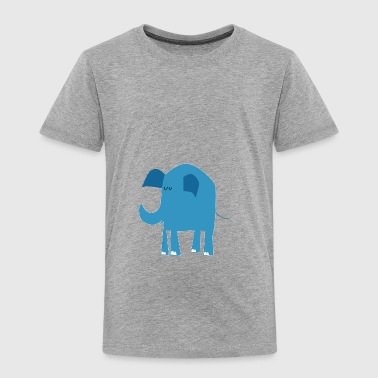 blue elephant - Toddler Premium T-Shirt