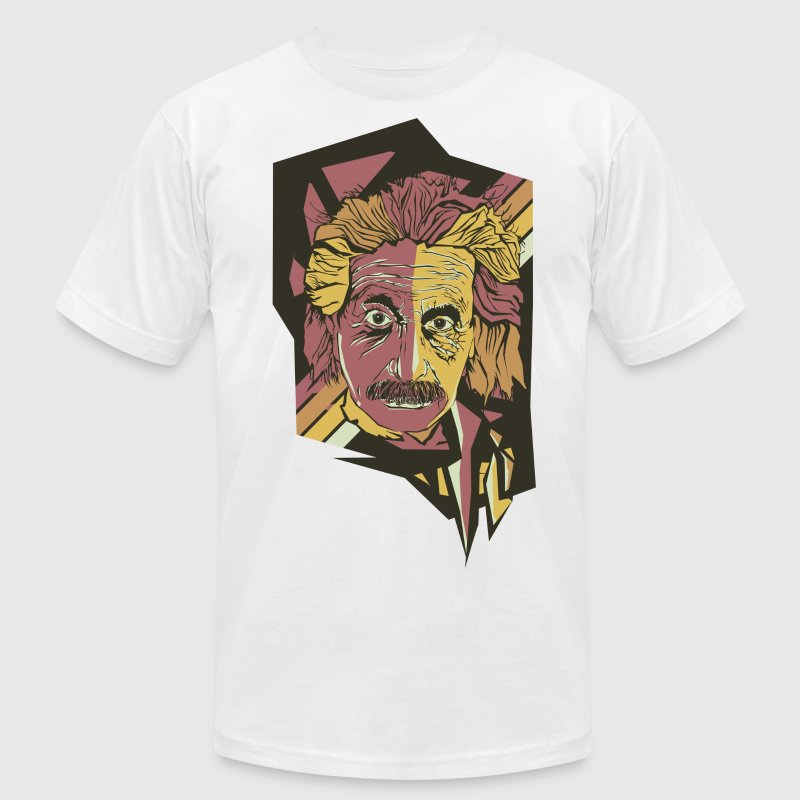 Albert Einstein ASPOP Art - Men's T-Shirt by American Apparel