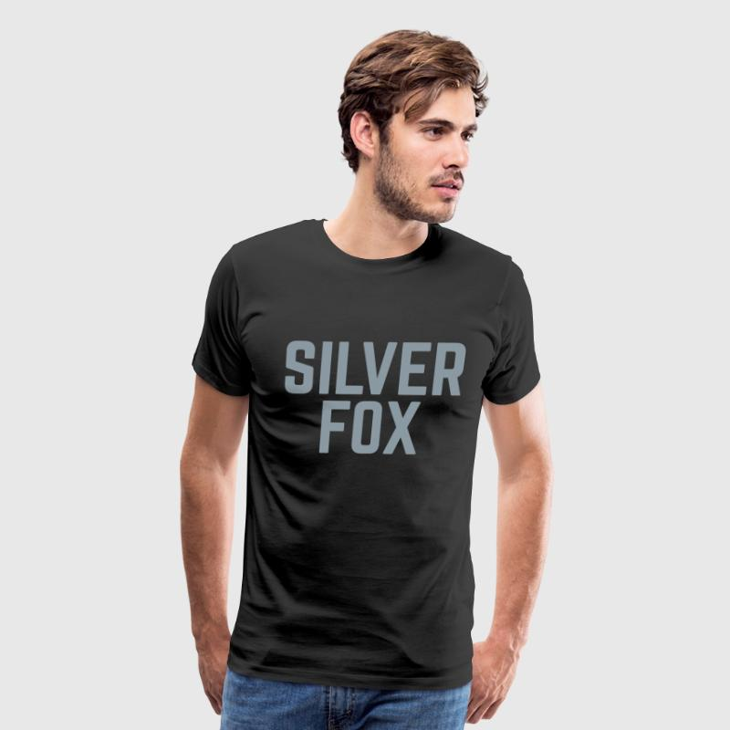 Silver Fox  T-Shirts - Men's Premium T-Shirt