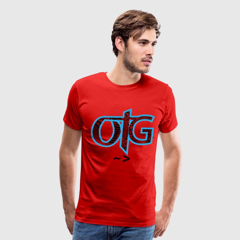 OTG Label Tshirt - Men's Premium T-Shirt