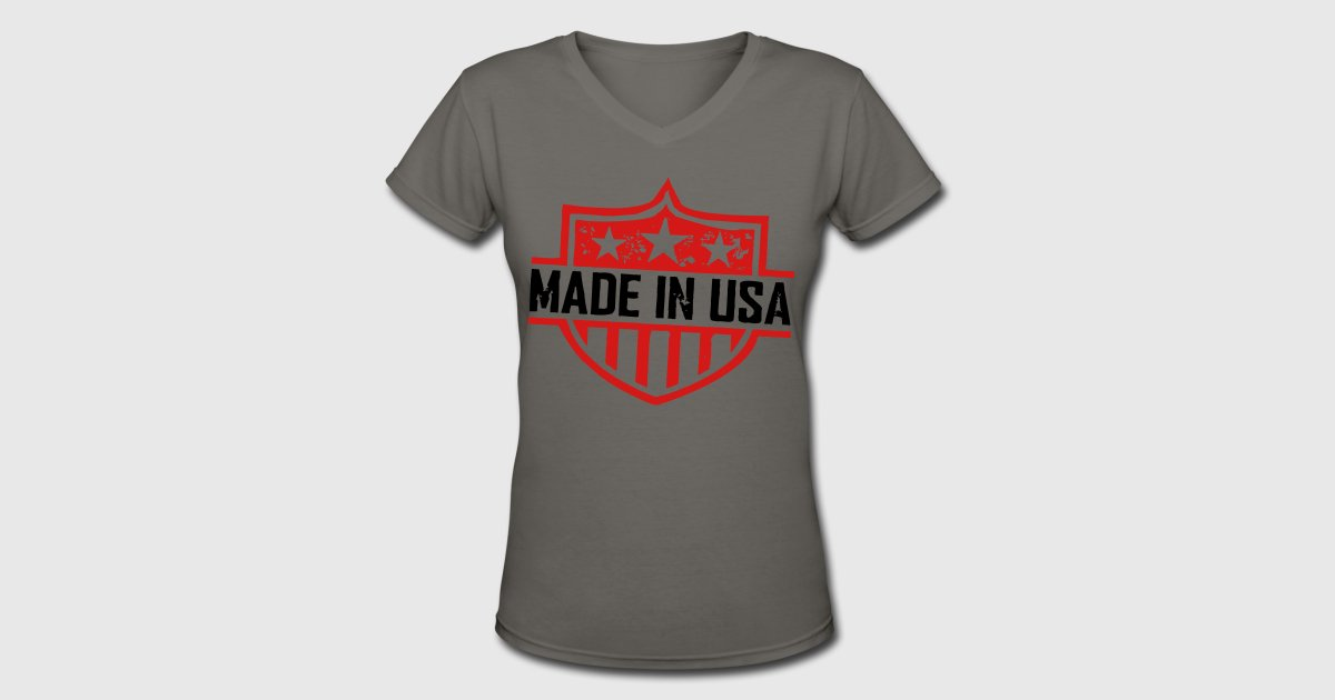 Made In Usa T Shirt Spreadshirt