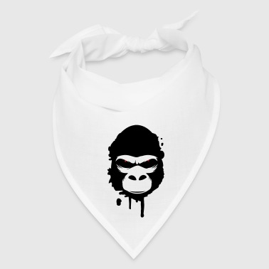 A gorilla head Graffiti Buttons - Bandana