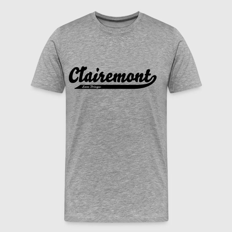 Clairemont San Diego City Neighborhood T-Shirts - Men's Premium T-Shirt