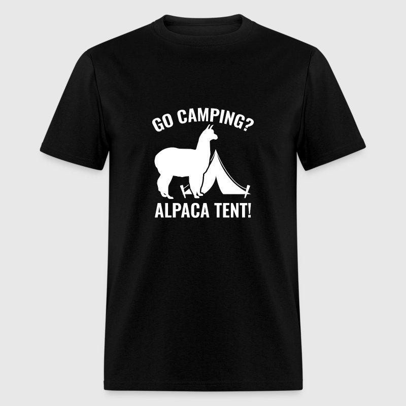 alpaca tent t shirt spreadshirt. Black Bedroom Furniture Sets. Home Design Ideas
