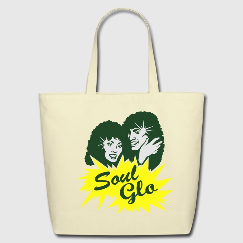 Soul Glo Afro Funk & Disco Bags & backpacks - Eco-Friendly Cotton Tote