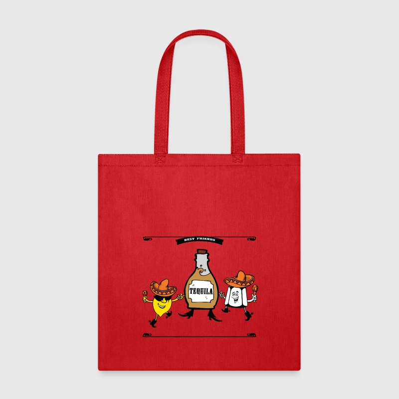 Tequila Best Friends Forever Bags & backpacks - Tote Bag