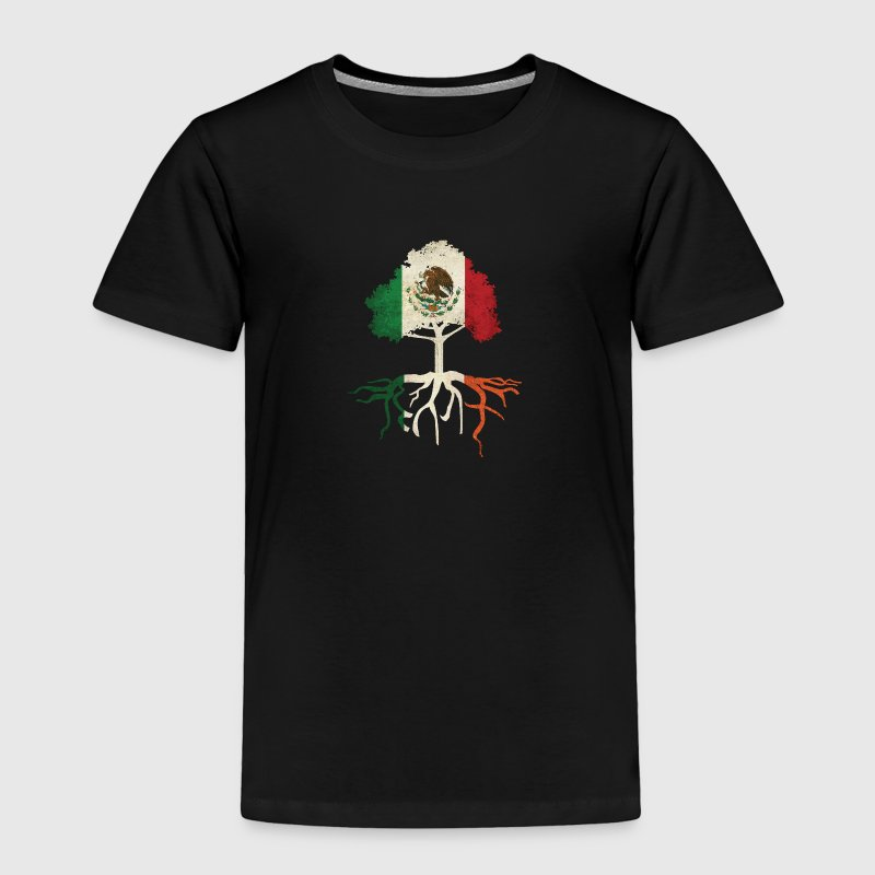Mexican Irish Mexico Ireland Roots Baby & Toddler Shirts - Toddler Premium T-Shirt