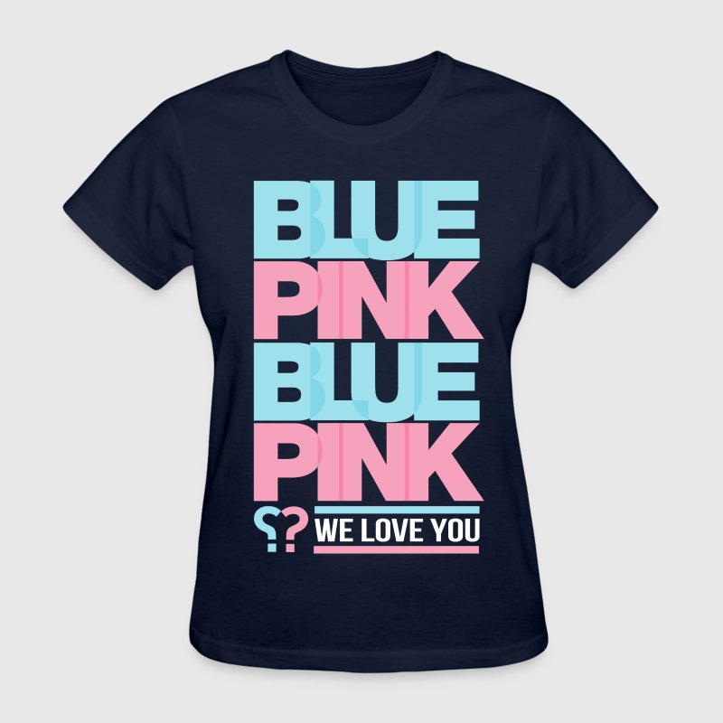 Blue Or Pink? Women's T-Shirts - Women's T-Shirt