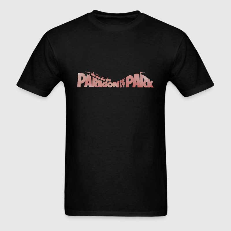 Old Throwback Paragon Park Roller Coaster T-Shirts - Men's T-Shirt