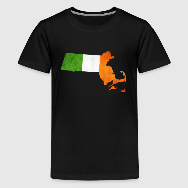 Cool Irish Flag Massachusetts T-Shirt | Spreadshirt